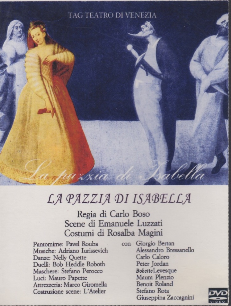 Pazzia front cover